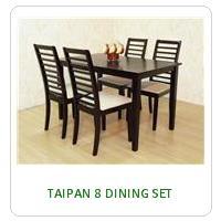 TAIPAN 8 DINING SET